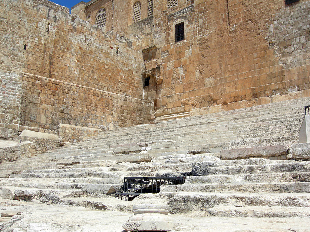 The first steps in the temple: a selection of sites
