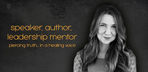 speaker, author, leadership mentor // piercing truth... in a healing voice